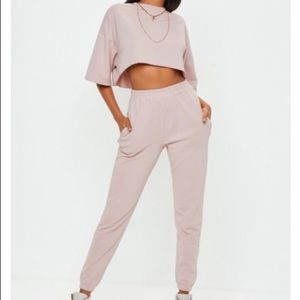 {missguided} 2pc jogger set